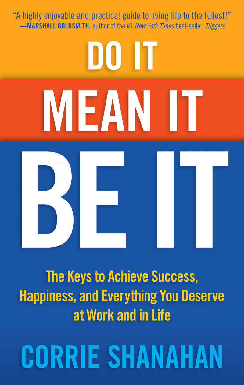 Do It, Mean It, Be It - Book Cover